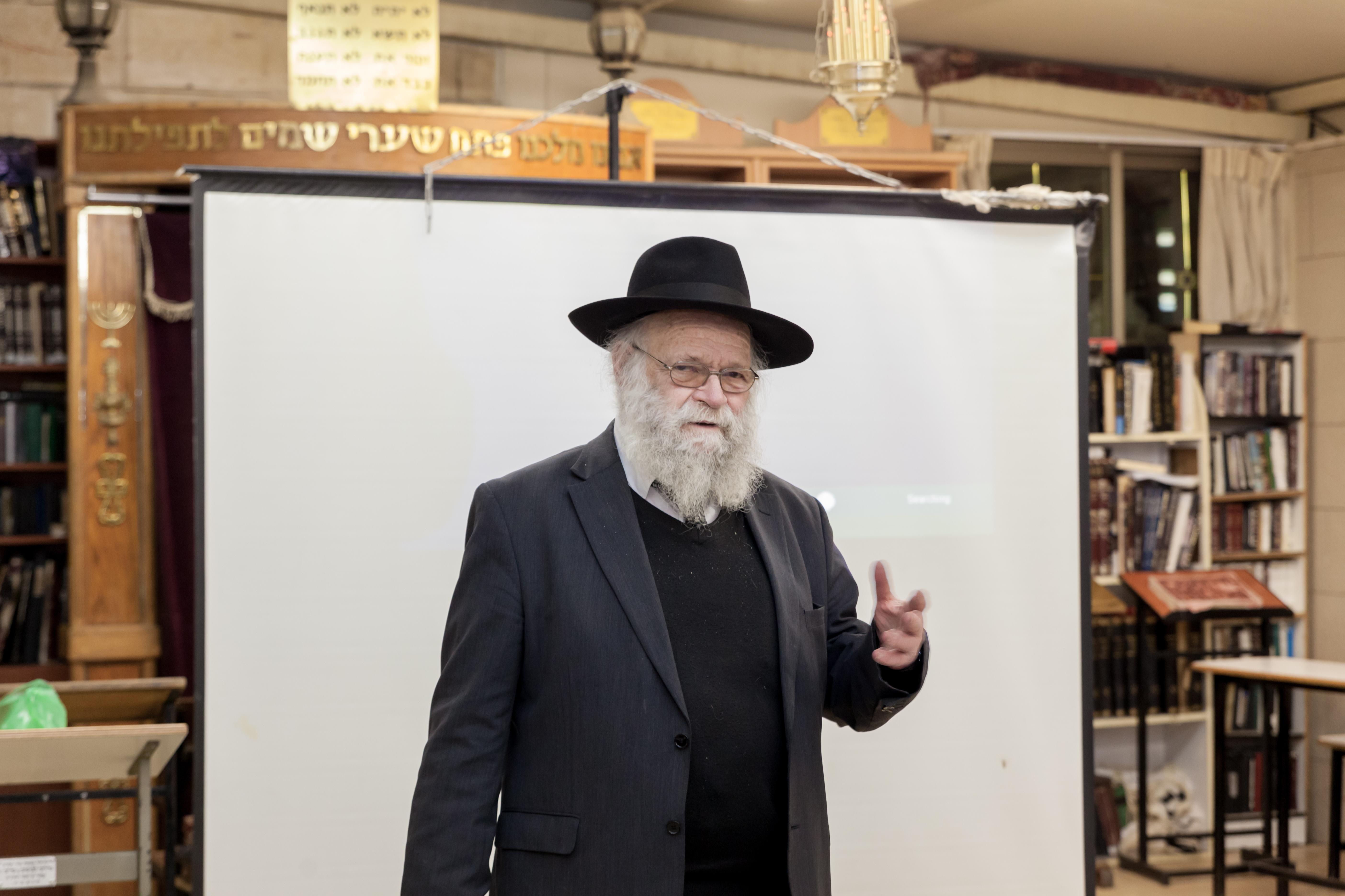 הרב לוינגר